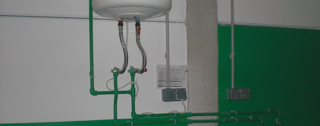 Agua a presi n - Instalacion de termo electrico ...